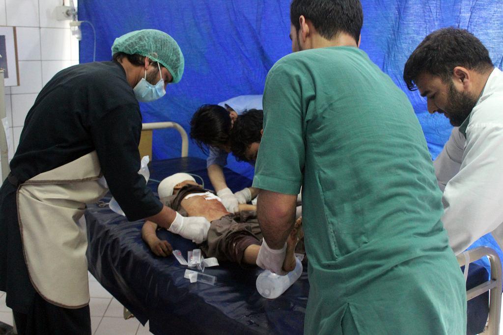Afganistan. Ranny po starciach sił bezpieczeństwa i talibów na północy kraju