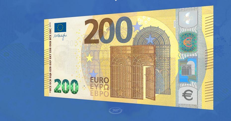 Nowe 200 euro