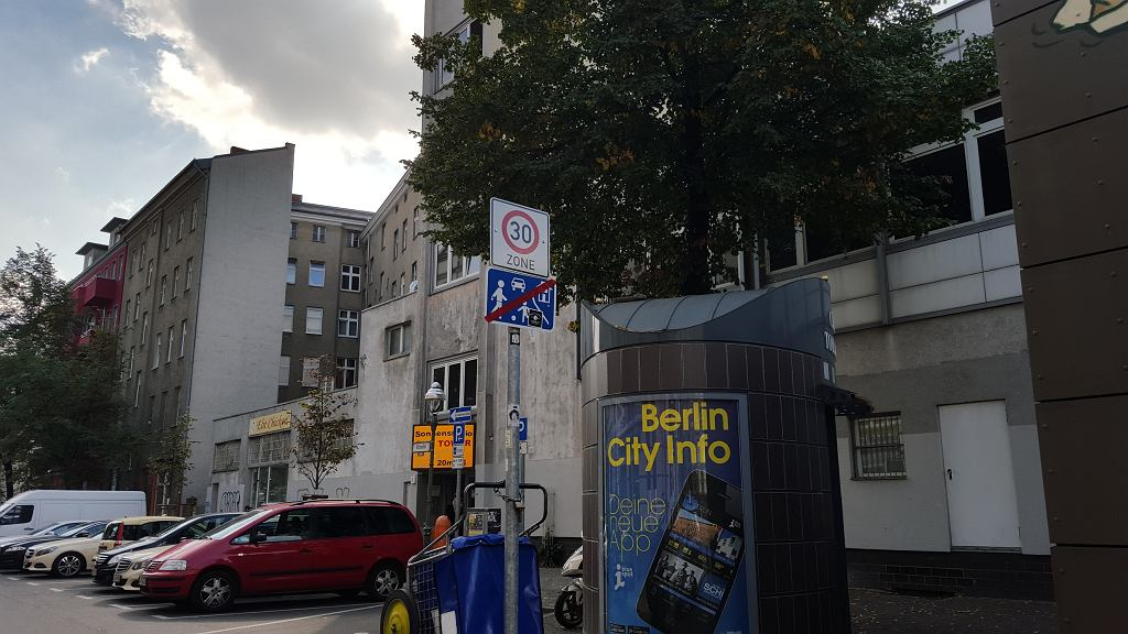 strefa tempo 30 w Berlinie