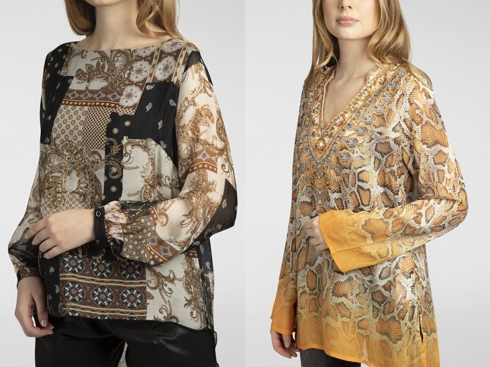 bluzki dla kobiet po 50tce