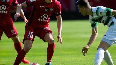 Bartosz Szeliga w meczu Piast Gliwice - Lechia Gdańsk 1:1