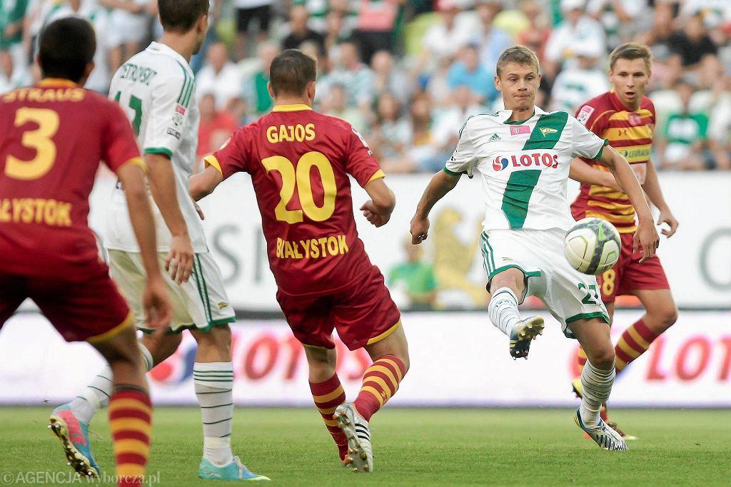 Lechia wygrała z Jagiellonią 2:0