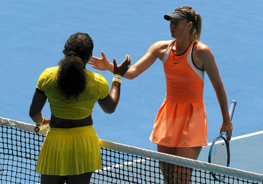 Serena Williams i Maria Szarapowa