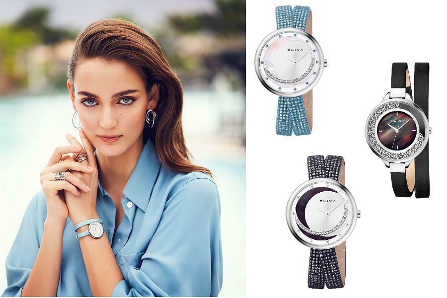 zegarki ze skórzaną bransoletą