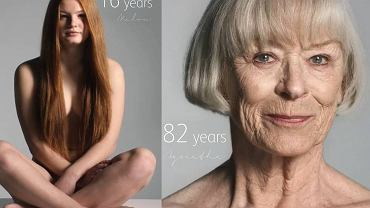 100 kobiet w zaledwie 60 sekund uświadomi ci, jak wygląda proces starzenia się.