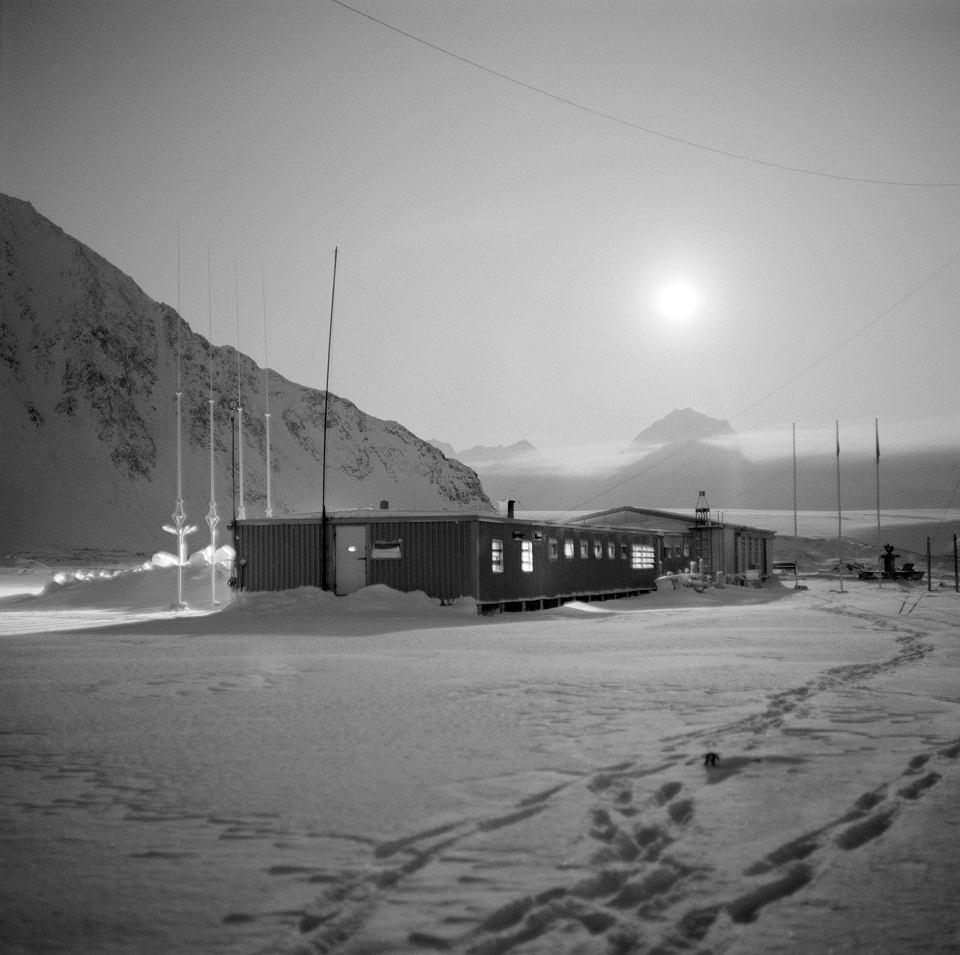 Polska Stacja Polarna na Spitsbergenie.