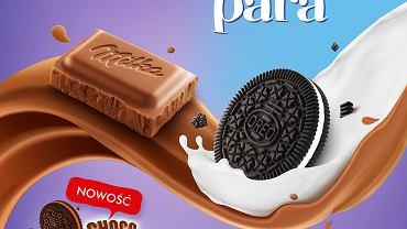 Milka i Oreo po raz kolejny dowodzą, że są Zgraną Parą. Jeszcze bardziej kakaowa tabliczka Milka z pokruszonymi ciastkami Oreo
