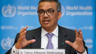 Tedros Adhanom Ghebreyesus, szef Światowa Organizacja Zdrowia (WHO)