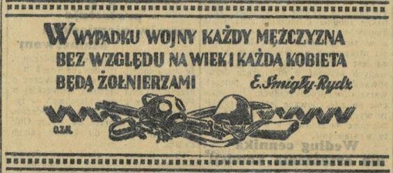 Express Poranny, 1 września 1939.