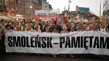 64. miesięcznica katastrofy smoleńskiej, 10 sierpnia 2015 r.