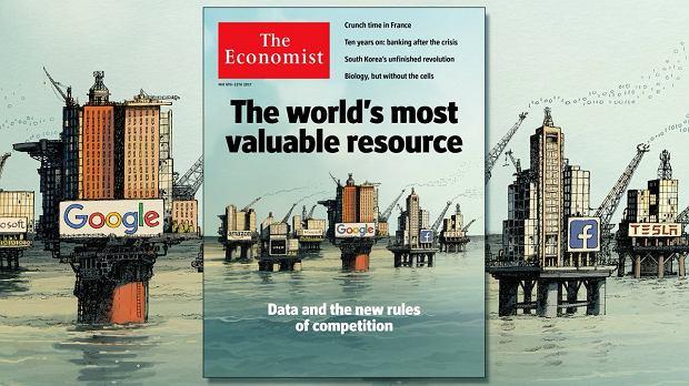 Czy to dane to nowa ropa? - pytał 'The Economist' w 2018