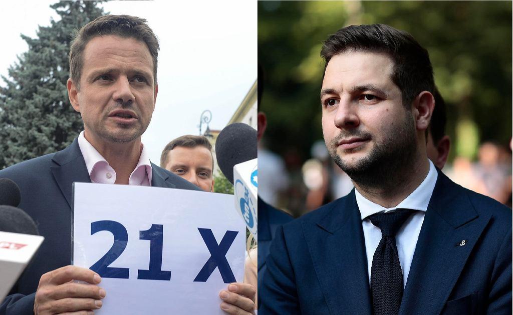 Rafał Trzaskowski i Patryk Jaki najprawdopodobniej spotkają się ze sobą w drugiej turze wyborów prezydenta Warszawy.