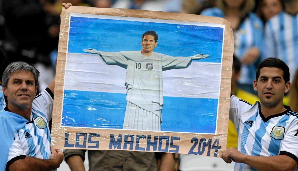 Kibice reprezentacji Argentyny