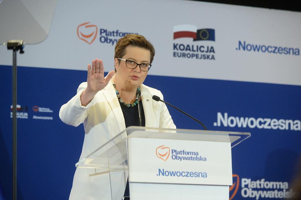Rada Krajowa Platformy Obywatelskiej. Katarzyna Lubnauer.