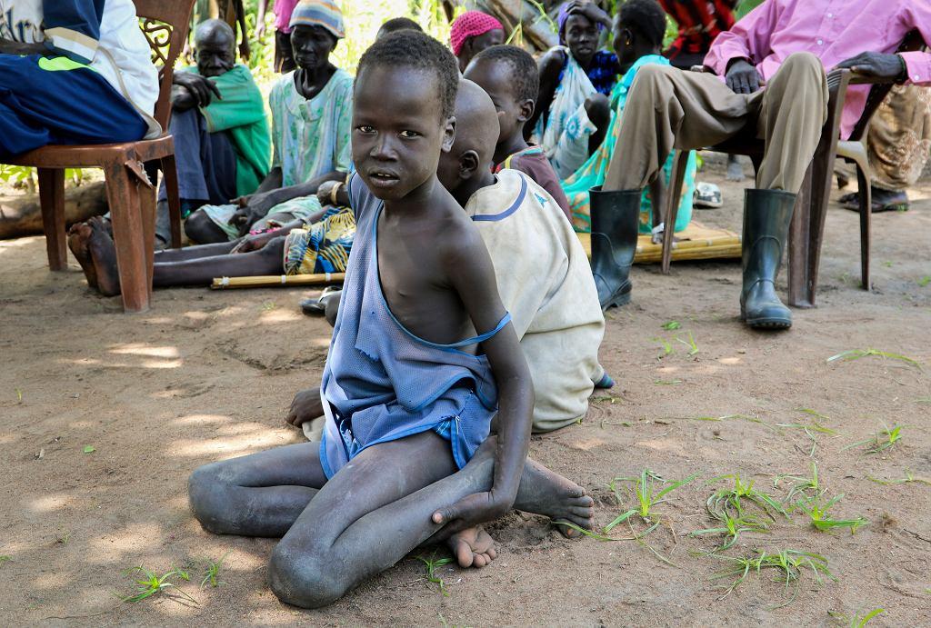 Dystrybucja żywności w Sudanie Południowym