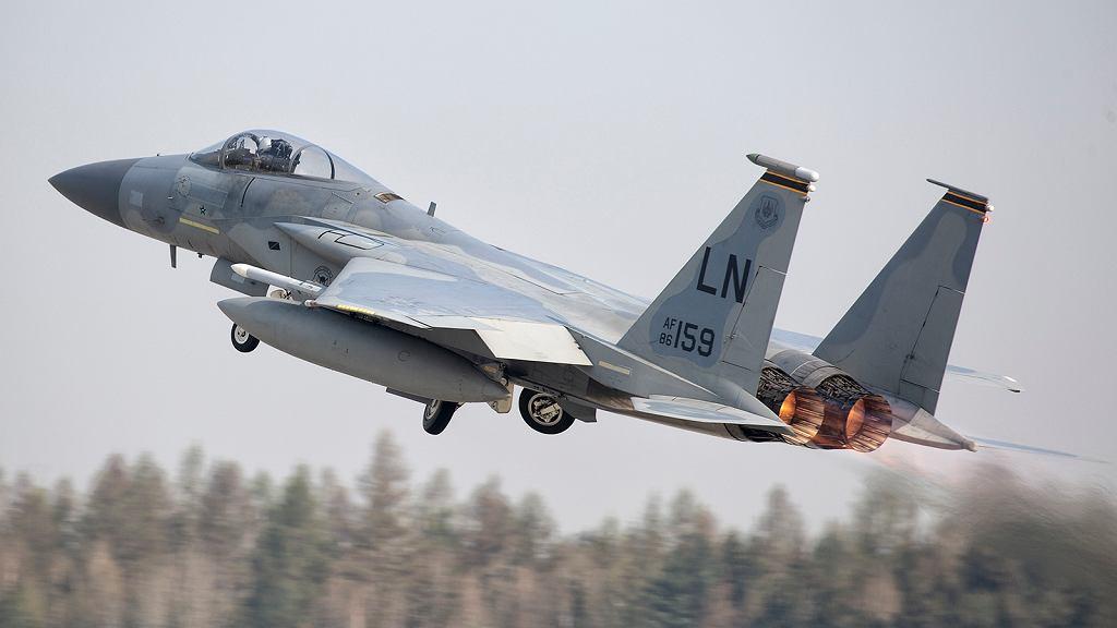 Startujący F-15C