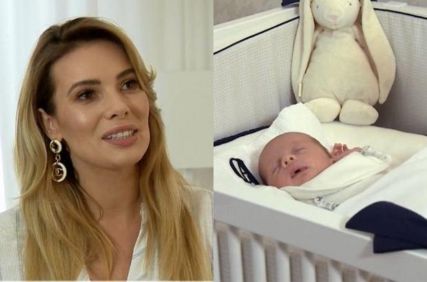 """Izabela Janachowska niedawno została mamą. O swojej nowej roli opowiedziała w """"Dzień Dobry TVN"""". Podczas wywiadu przyznała, że jej syn jest oazą spokoju, a także zdradziła, co uważa na temat karmienia dzieci piersią w miejscach publicznych."""