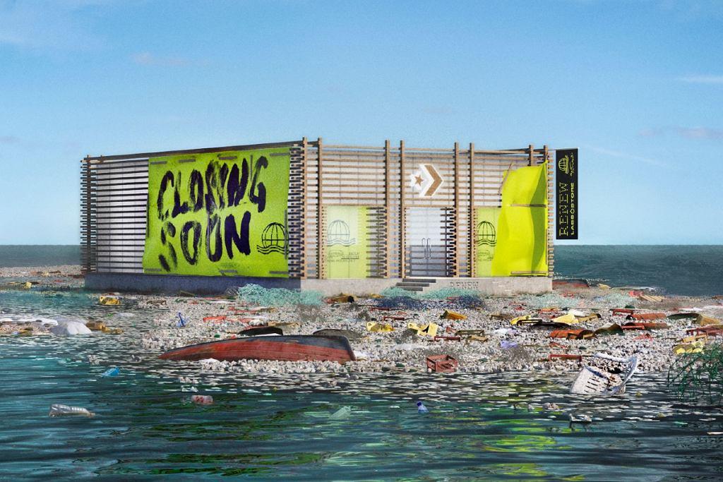 Wirtualny sklep na oceanicznym wysypisku śmieci