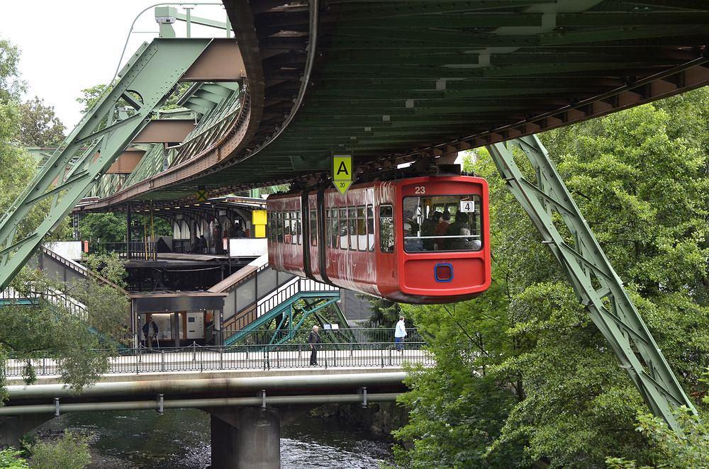Wuppertal - podwieszana kolejka