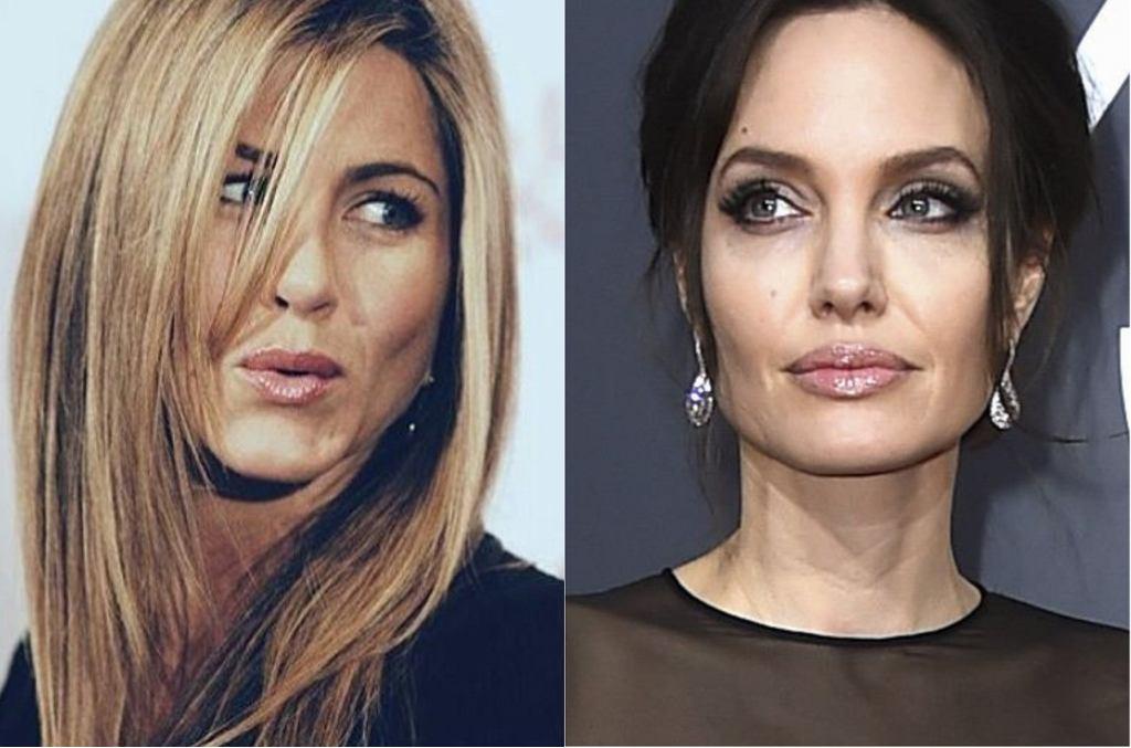 Aniston, Jolie