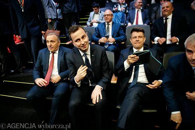 Grzegorz Schetyna (PO), Władysław Kosiniak-Kamysz (PSL) i Ryszard Petru (Nowoczesna) byli gośćmi zjazdu samorządowców z całej Polski