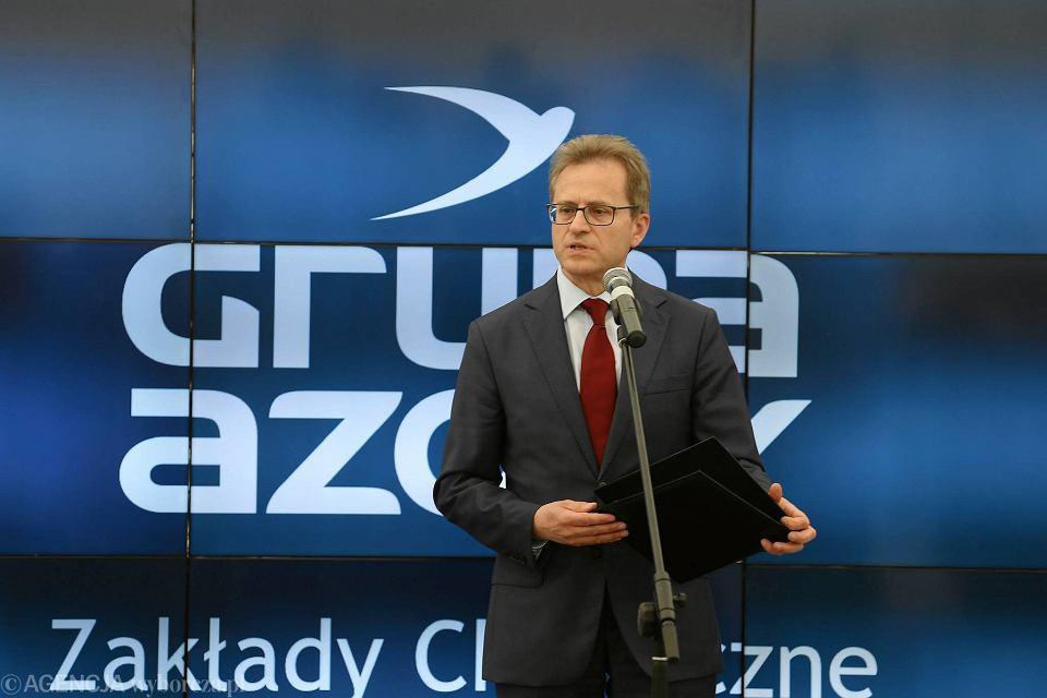 Prezes Grupy Azoty SA Wojciech Wardacki