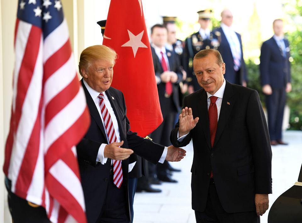 Recep Tayyip Erdogan i Donald Trump. Wizyta prezydenta Turcji w Białym Domu w Waszyngtonie, 16 maja 2017 r.