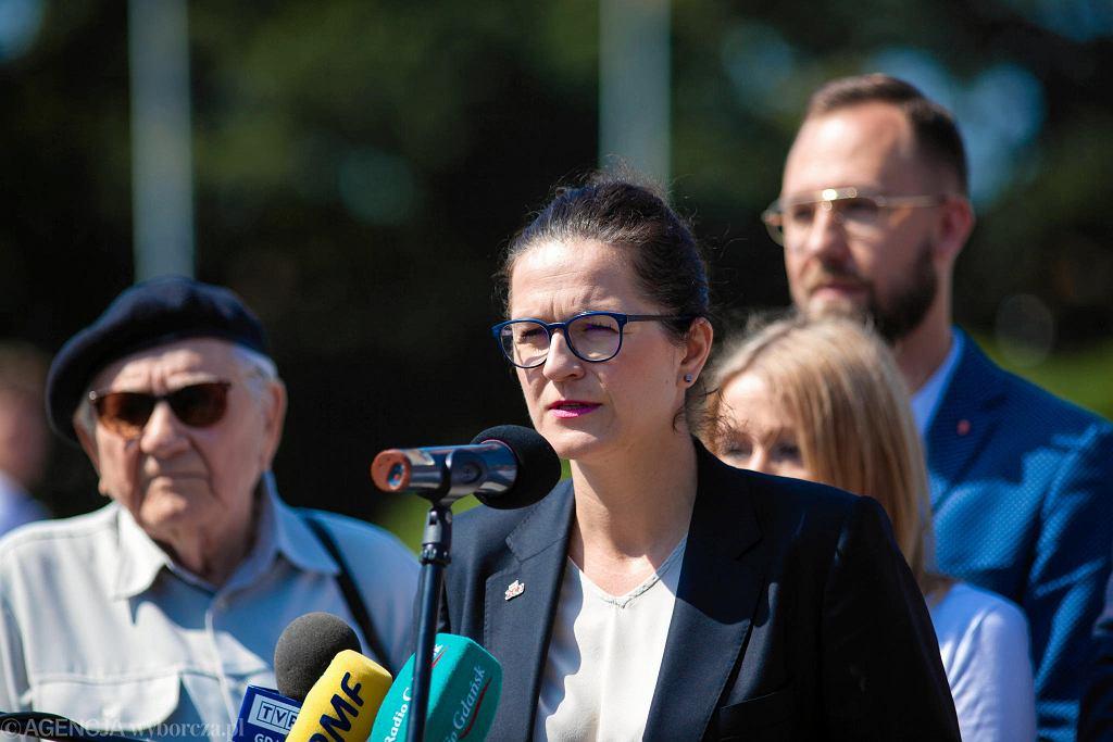 Aleksandra Dulkiewicz poinformowała o liście do prezydenta Andrzeja Dudy i zaprosiła na obchody 80. rocznicy wybuchu drugiej wojny światowej