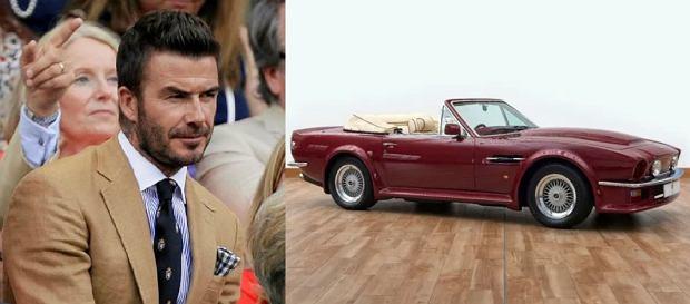 Samochód Beckhama wystawiony na serwisie aukcyjnym! Cena zwala z nóg