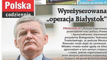 'Gazeta Polska Codziennie' do artykułu o Białymstoku użyła zdjęcia wiceprezydenta Rzeszowa