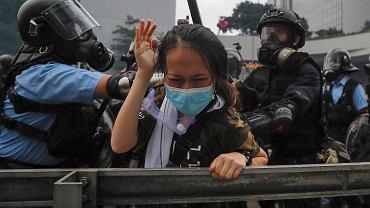 Protesty w Hong Kongu, 12.06.2019