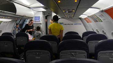 Filipińskie linie lotnicze chcą usunąć z pokładów samolotów toalety i kuchnie