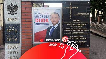 Plakat Andrzeja Dudy