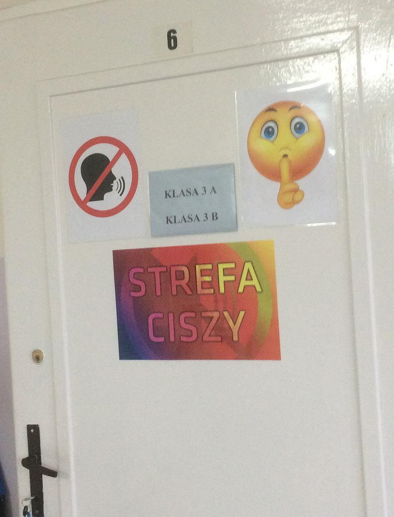 Strefa ciszy powstała w jednej z klas w Zespole Szkolno-Przedszkolnym w Iłownicy