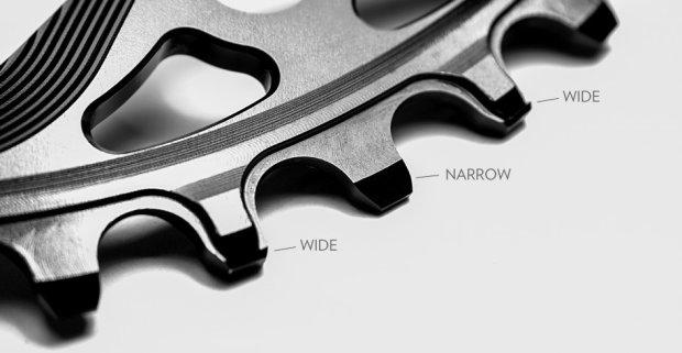 narrow wide