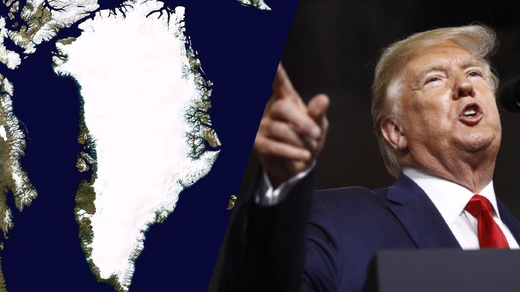 Prezydent Doland Trump być może chciałby kupić Grenlandię