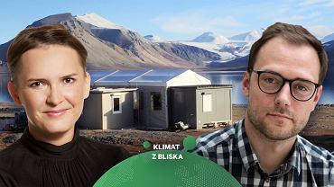 Dr Jakub Małecki bada topniejący lód na Spitsbergenie. 'To naprawdę jest rewolucja i widzimy to na własne oczy'
