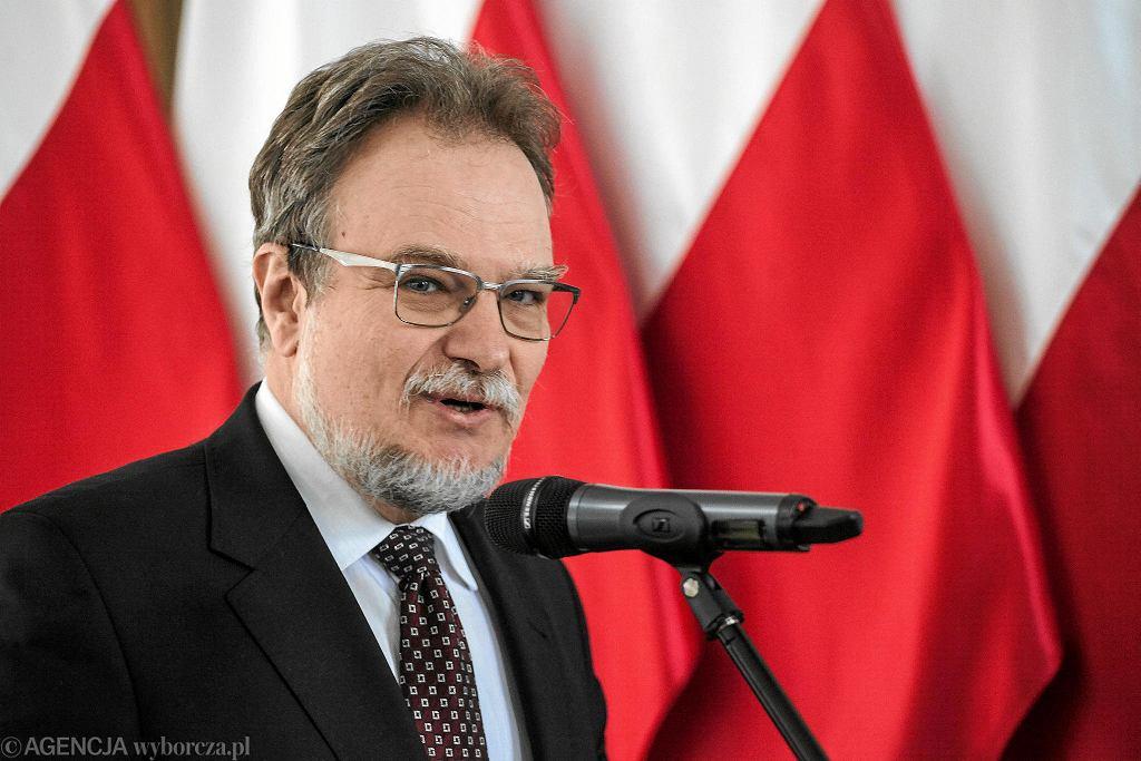 Jakub Skiba, prezes zarządu Polskiej Grupy Zbrojeniowej.