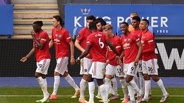 Premier League. Radość piłkarzy Manchesteru United