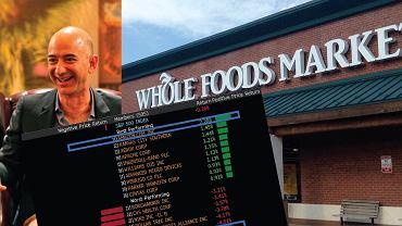 Jeff Bezos, szef Amazon, przejął sieć Whole foods