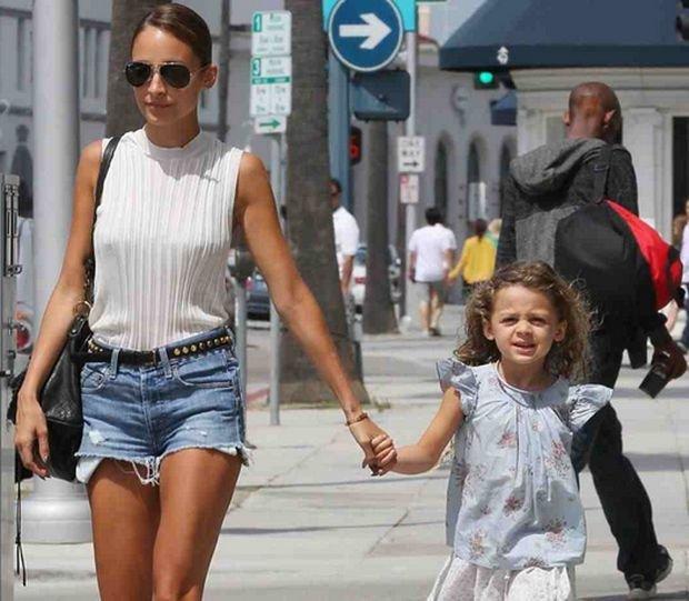 Nicole Richie z córką Harlow