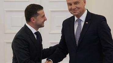 Spotkanie Andrzeja Dudy z Wołodymyrem Zełenskim