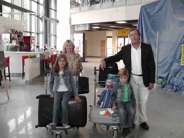 Rodzice Vasconcelosa i jego dzieci odwiedzili go w Bydgoszczy