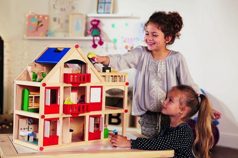 Zabawki drewniane w Lidlu