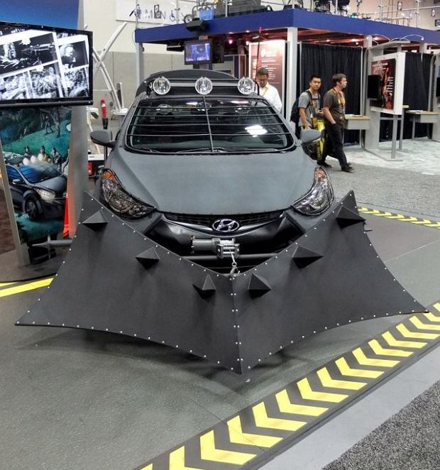 2012 Hyundai Elantra Coupe Zombie Survival Machine