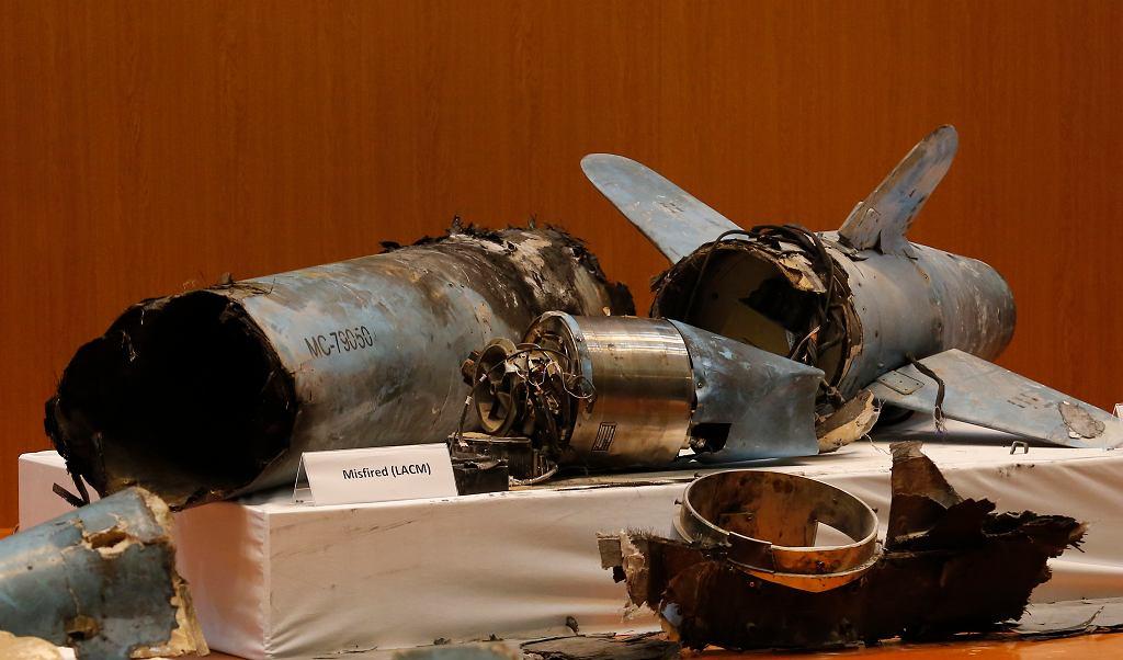 Saudyjczycy zaprezentowali pozostałości po ataku na rafinerie 14 września