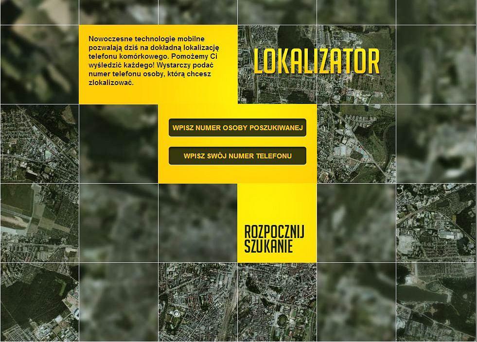 Lokalizator - rewolucyjna usługa lokalizująca znajomych