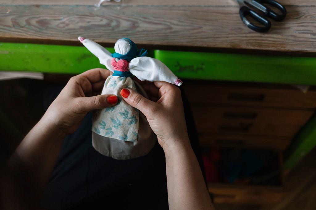 Lalka mocy robiona przez Kasię Dorotę/Urban Uagia
