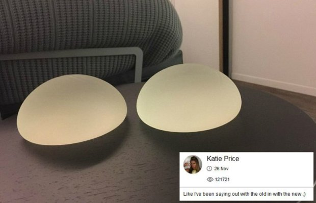 Implanty Katie Price