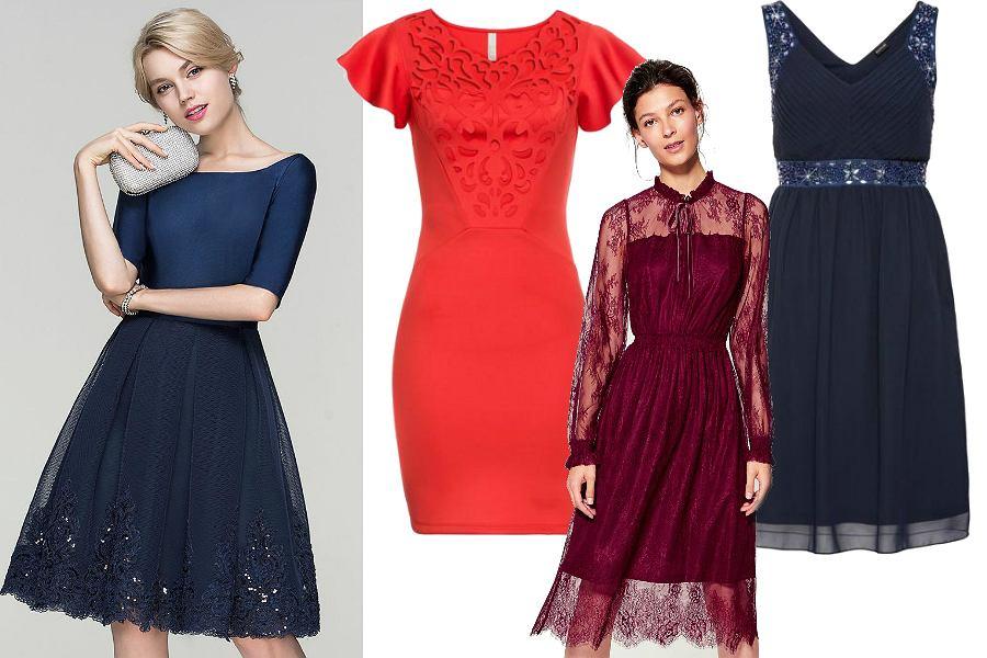 Krótkie suknie balowe i sukienki koktajlowe